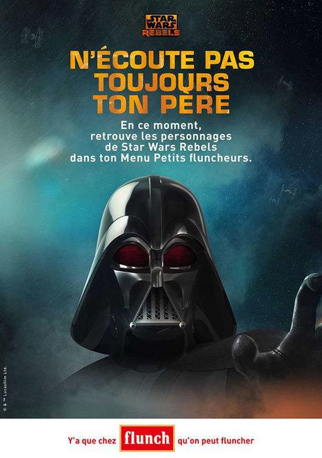 Les publicités sur le thème Star Wars - Publimania.fr   Publicité - Advertising   Scoop.it