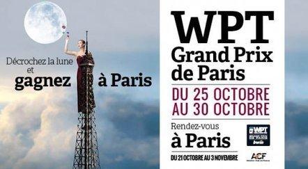 WPT Grand Prix de Paris à l'ACF du 25 au 30 octobre | THE-R♦UNDERdotnet | Scoop.it