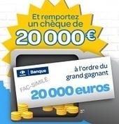 Jeux concours : gagner un chèque de 20000 euros | tina | Scoop.it