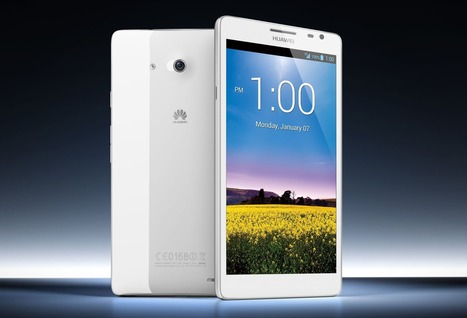 Huawei Officially Announces Ascend Mate Smartphone With Big Screen HD Display 6.1-Inch at CES 2013 | Cool Gadgets and Technology News | Scoop.it