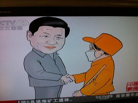 Xi Jiping et le peuple | Arabies | Scoop.it