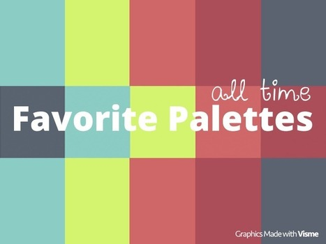 All time favorite Color Palettes   all is design   Scoop.it