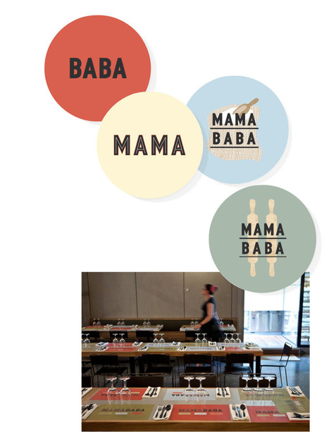 Mamababa identity by Round | Australia | Corporate Identity | Scoop.it