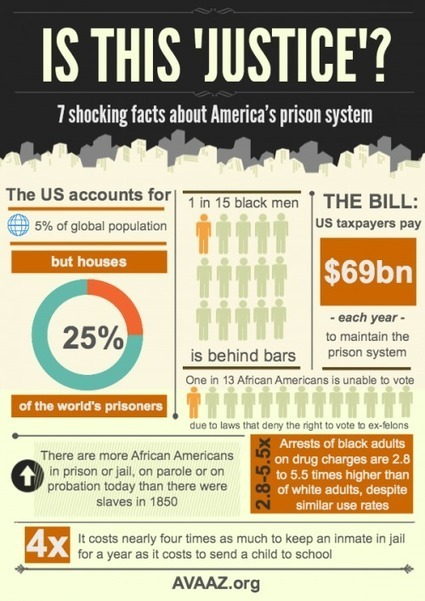Prison Culture » Infographic: Is This Justice? | Social Awareness | Scoop.it