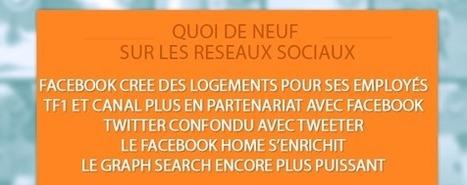 Ce qu'il faut savoir sur les réseaux sociaux : Facebook, TF1 et Canal+, Twitter confondu avec Tweeter, Facebook construit un quartier…   benoitvallon   Scoop.it