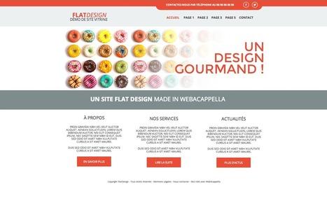 Tendance web : parlez-vous le FLAT DESIGN ?   Actualités du webdesign   Scoop.it