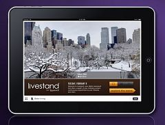 Yahoo Unveils 'Livestand' Tablet Newsstand And 'Personalized News' Focus | Brand & Content Curation | Scoop.it