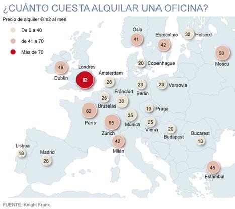 Madrid es la ciudad del mundo en la que más subirá el alquiler de oficinas | Economía | EL MUNDO | Orgulloso de ser Ingeniero en Informática | Scoop.it