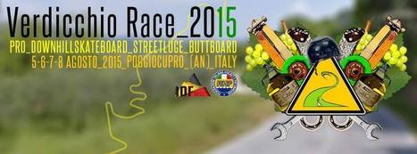 VERDICCHIO RACE 2015: Pro Downhill Skateboard Competition in Le Marche | Le Marche another Italy | Scoop.it