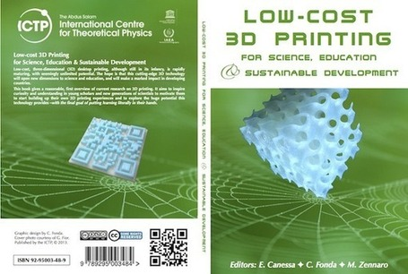 Low-Cost 3D printing: Free Book from ICTP, Trieste, Italy | A girl with a 3D printer | Digital Fabrication, Open Source Hardzware, DIY, DIWO | Scoop.it