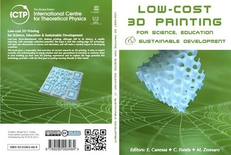 Low-Cost 3D printing: Free Book from ICTP, Trieste, Italy | A girl with a 3D printer | BarFabLab | Scoop.it