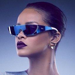 Lunettes de soleil Dior x Rihanna | Les Gentils PariZiens : style & art de vivre | Scoop.it