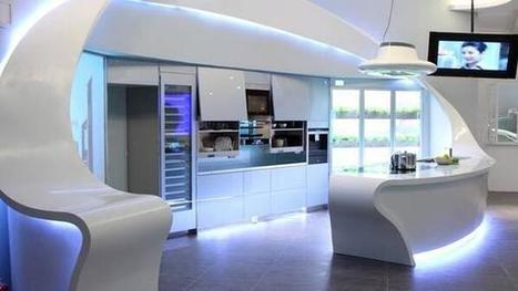 TheKingsToys: Futuristic and Elegant Kitchen ... | All About Kitchen Remodel | Scoop.it