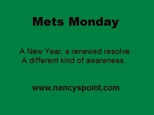"""Mets Monday – Share Your """"Spark"""" @ Nancy's Point 