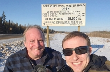 The ice road cameth, and we went the wrong way | NWT News | Scoop.it