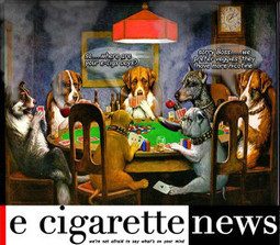 Dogs Playing Poker - A Poster for Today | E-Cigarette News | E-Cigarette News | Scoop.it