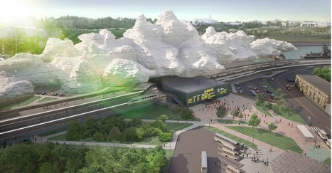 [Sevastopol, Crimea, Ukraine] 'Under the Cloud' Railway Station Proposal / Arthur Kupreychuk | The Architecture of the City | Scoop.it
