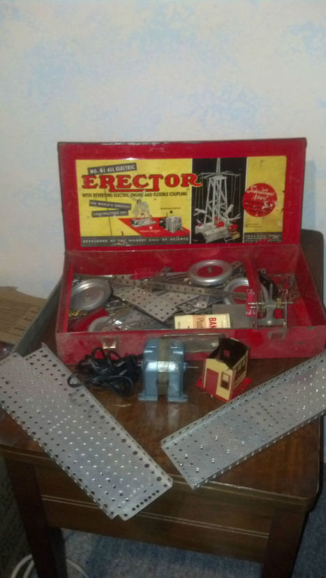 ANTIQUE NO 6 1/2 GILBERTS ERECTOR SET CLASSIC VINTAGE TOY | Gear | Scoop.it