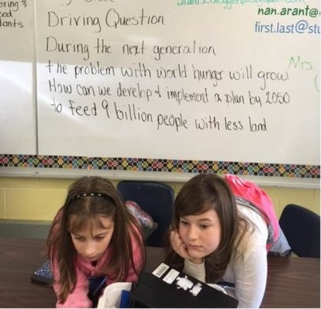 Spotlight: Student Work In Project Based Learning -   Supporting Problem Based Instruction   Scoop.it