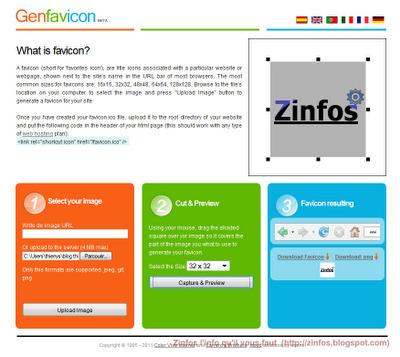Fabriquer votre favicon en ligne | Time to Learn | Scoop.it