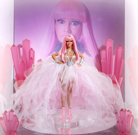 OMG, There's A Nicki Minaj Barbie Doll And We Want It SO BAD! (PHOTO)   Les choix de Charlotte, 9 ans   Scoop.it