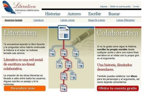 Literativa, red social para escribir historias colaborativas no lineales   Recull diari   Scoop.it