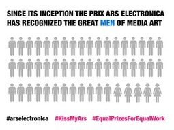 Why women are asking a major art and technology festival to #KissMyArs | Digital #MediaArt(s) Numérique(s) | Scoop.it