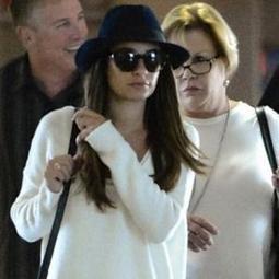 Lea Michele de Glee Saison 5 en look décontracté le 15 septembre ... - meltyFashion   Mode   Scoop.it