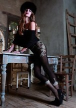 Trasparenze - Stylish floral pattern tights Italy | Tights, Stay Ups, Hold Ups Sexy Tights | Scoop.it