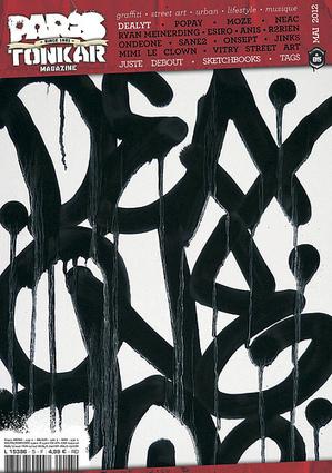 Paris Tonkar magazine#5 | Best Urban Art | Scoop.it