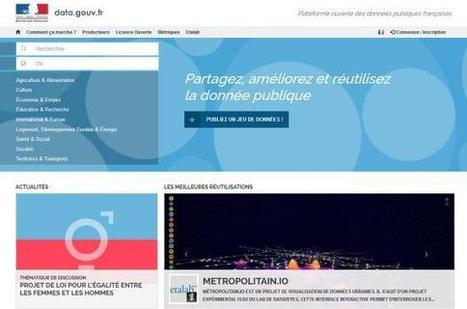 "Etalab : un nouveau portail pour démocratiser l'open data | ""green business"" 
