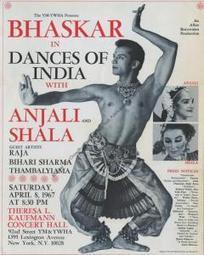 Bhaskar Roy Chowdhury, Prince Among Dancers  | The New York Public Library | male dancers of bharatanatyam | Scoop.it