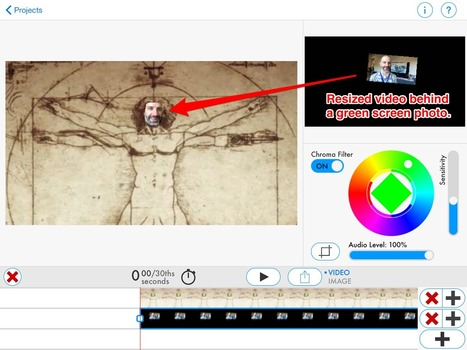 The History 2.0 Classroom: Green Screen iPad Experiments with DoInk | iLearn, iPad in Education | Scoop.it