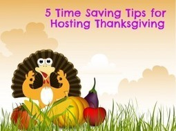Five Time Savers for Hosting Thanksgiving | Personalized Gifts | Scoop.it
