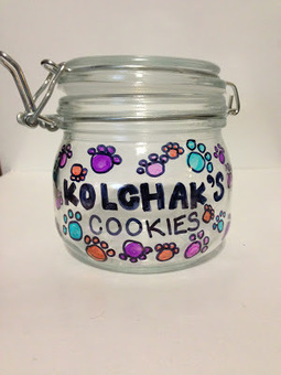 Kol's Notes: D.I.Y. Dog: Sharpie-Designed Treat Jar | Pet News | Scoop.it