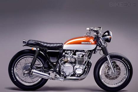Honda CB550F Super Sport   Vintage et Café Racer   Scoop.it