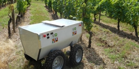 La viticulture est en voie de robotisation | Winemak-in | Scoop.it