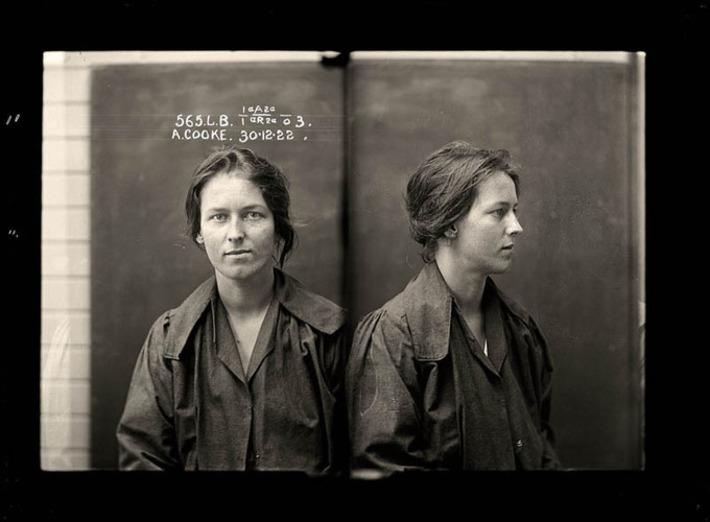 Femme Fatales: 35 Vintage Female Mug Shots   Herstory   Scoop.it
