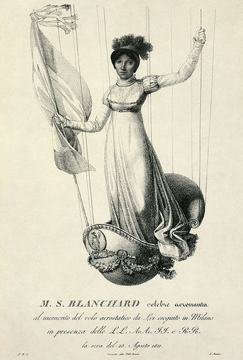 SOPHIE BLANCHARD (1778 –1819)  First Women to Fly Solo in a Hot Air Balloon | K-8 teaching and learning | Scoop.it