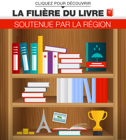 En infographie : la Région, grand soutien du livre | ile-de-france | Scoop.it