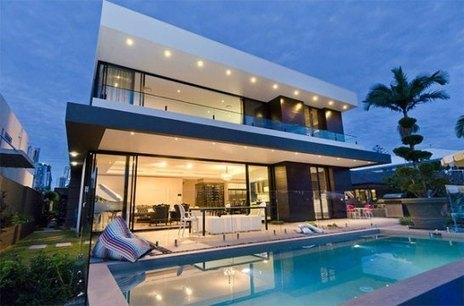Contemporary Residence With Beautiful Harbor Views | yourhomyhome.com | Modern Home Design | Scoop.it