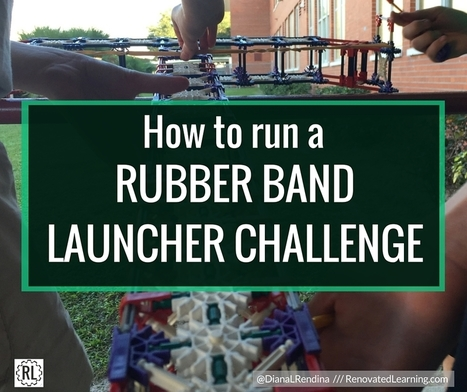 How to Run a Rubber Band Launcher Challenge | Renovated Learning @DianaLRendina | iPads, MakerEd and More  in Education | Scoop.it