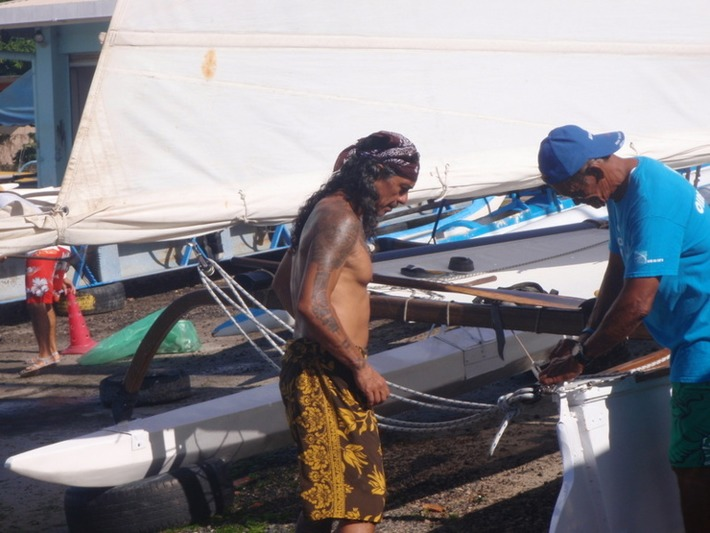 Navigation à l'ancienne : Pāpā Richmond a « mis les voiles » sur les Tuamotu   Tahiti Infos   Océanie   Scoop.it