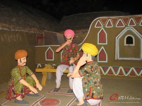 Ilimitada comida e entretenimento em Chokhi Dhani | viagem para india | Scoop.it