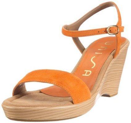 (1)   Unisa RITA_12_KS, Damen Sandalen/Fashion-Sandalen, Orange (SUNSET), EU 40 | sandalen damen günstig | Scoop.it