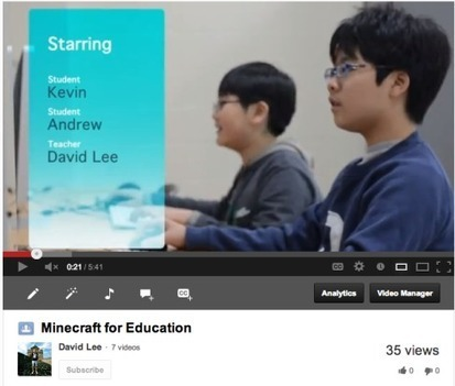 Minecraft in Education   David Lee EdTech   Page 2   Gaming in the Library   Scoop.it