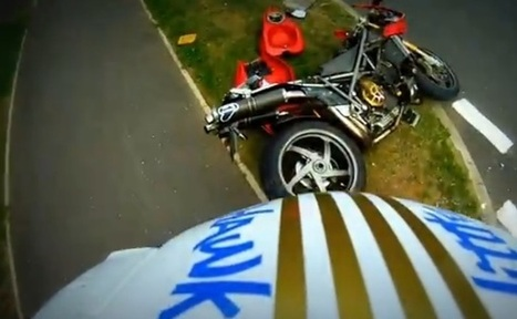 Son crashes dad's 996 SPS | Ducati news | Scoop.it