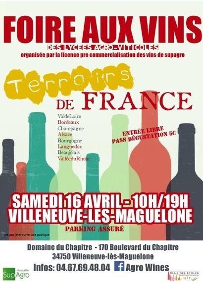 Montpellier SupAgro - 1ère foire aux vins 16 avril 2016 | qqs infos sur le centre Inra Montpellier | Scoop.it
