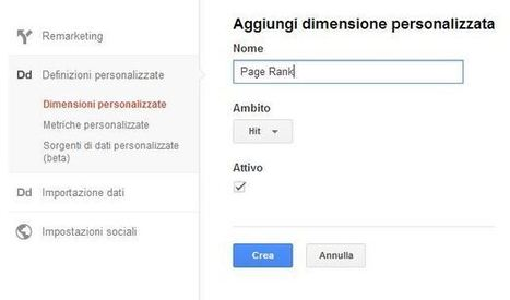 Dimensioni personalizzate su Analytics per la SEO off-page | Social Media Consultant 2012 | Scoop.it