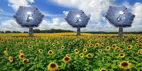 #Solar Sunflower harnesses power of 5,000 suns 12KW #Solar 21 kW #Thermal #tech | Messenger for mother Earth | Scoop.it